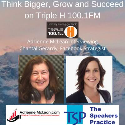 Cover art for Think Bigger, Grow and Succeed with guest Chantal Gerardy