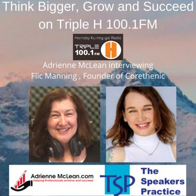 Cover art for Think Bigger, Grow and Succeed Series 2 withFlic Manning