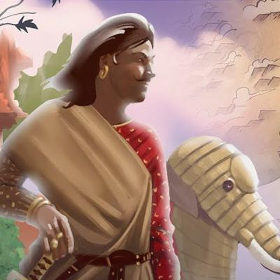 Cover art for MAURYAN EMPIRE AND ASHOKA THE GREAT | #012