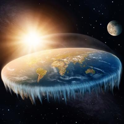 Cover art for Flat Earth: Arguably Not!