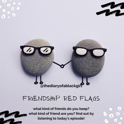 Cover art for FRIENDSHIP RED FLAGS