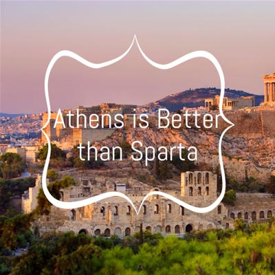 Cover art for Six Minutes of Debate- Athens is Better than Sparta