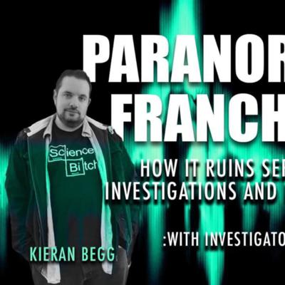 Cover art for Paranormal Events and TV shows, how does it affect the the field, with Kieran Woodhouse Secret Door.