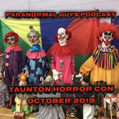 Cover art for Paranormal Guys Podcast | Taunton Horror Con | October 2019