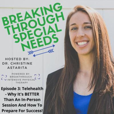 Cover art for Episode 3: Telehealth: Why It's Better Than An In-Person Session And How To Prepare For Success