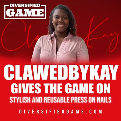 CLAWED BY KAY GIVES THE GAME ON STYLISH & REUSABLE PRESS ON NAILS
