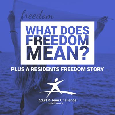 Cover art for What Does Freedom From Addiction Mean? And, Austin's Personal Story!