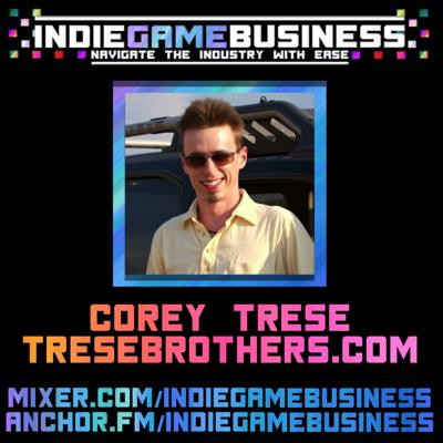 Cover art for Tips on building your Indie Game community with Corey Trese