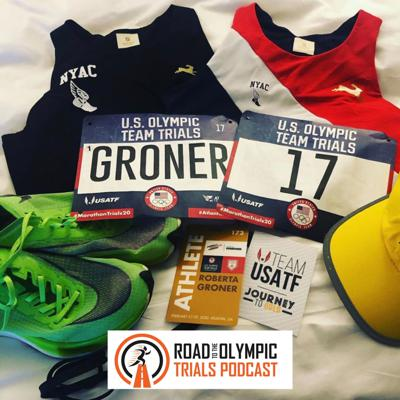 Cover art for UPDATED Ep. 52 - Roberta Groner: Olympic Trials Wrap-Up