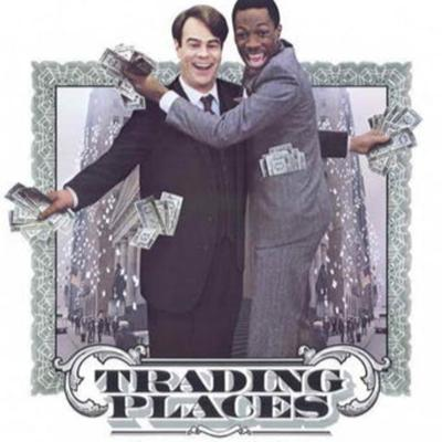Cover art for The VHS Strikes Back - EPS28 - Trading Places (1983)