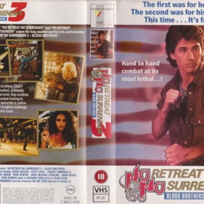 Cover art for The VHS Strikes Back - Eps29 - No Retreat No Surrender 3 (1990)