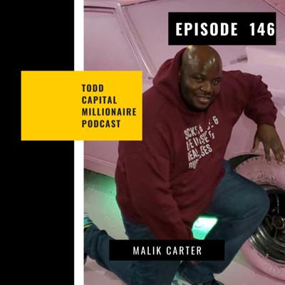 Cover art for Episode 146, The Poorest Millionaire In Philly with Malik Carter, @realestate_coach_carter
