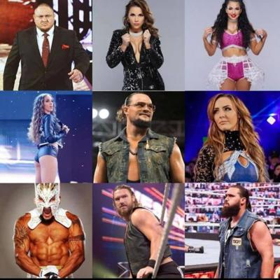Cover art for 272 WWE Roster Cuts 2021 Edition