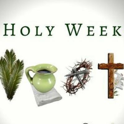 Cover art for Holy Week: Palm Sunday to Resurrection Day