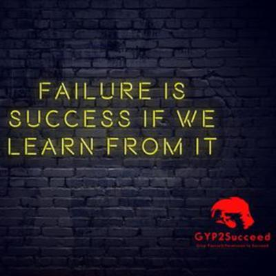 Cover art for Turning Failure into the Path to Success
