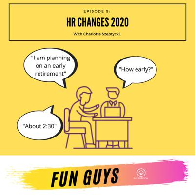 Cover art for Episode 9: HR changes and effect this will have on UK SME's with Charlotte Szeptycki