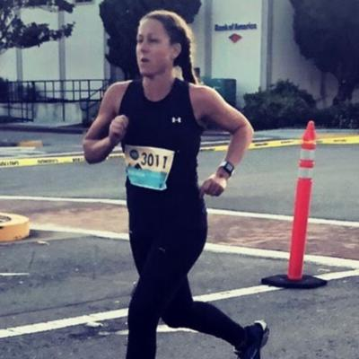 Cover art for Episode 102: Amy Brennick on Lifting and Sprinting Your Way to Faster 5ks