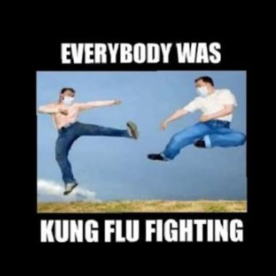 Cover art for Zoom Happy Hour: Kung Flu Fighting -- Our Takes on the COVID-19 Fiasco