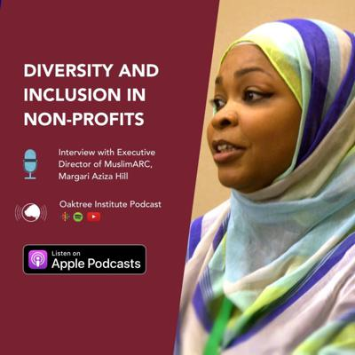 Cover art for Diversity and Inclusion in Nonprofits - Interview with The Executive Director of MuslimARC, Margari Aziza Hill.