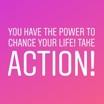Cover art for You have the power to change your life! Take action!