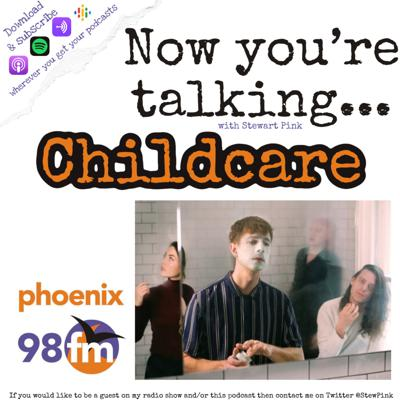 Cover art for Now you're talking with Childcare