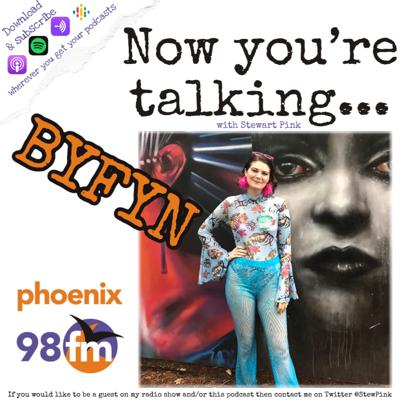 Cover art for Now you're talking with BYFYN