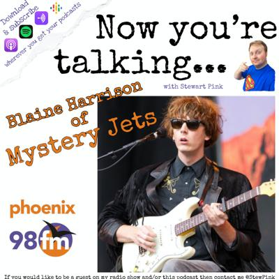 Now you're talking with Blaine Harrison of Mystery Jets