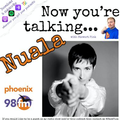Cover art for Now you're talking with Nuala