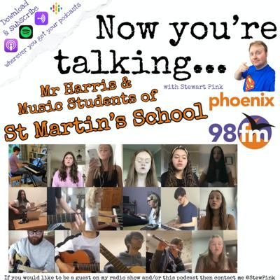 Now you're talking with Mr Max Harris & Students (Sophie, Archie, Emily & Tom) of St Martin's School Music Department, Brentwood