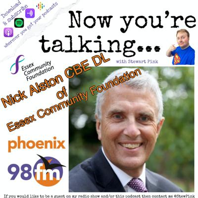 Cover art for Now you're talking with Nick Alston of Essex Community Foundation