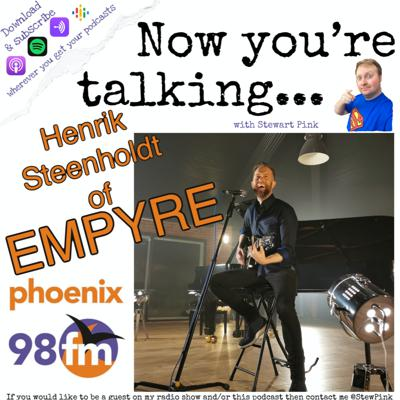 Cover art for Now you're talking with Henrik Steenholdt of Empyre