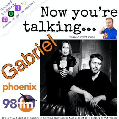 Cover art for Now you're talking with Gabriel