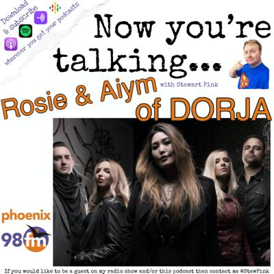 Cover art for Now you're talking with DORJA