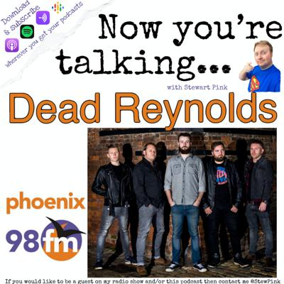 Cover art for Now you're talking with Dom of Dead Reynolds