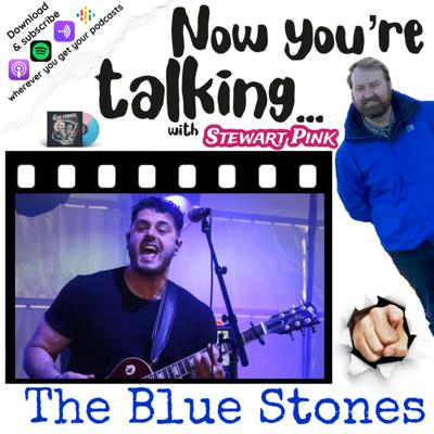 Cover art for Now you're talking with Tarek Jafar of The Blue Stones