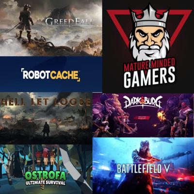 Cover art for Video Games Played for February 2020 - We talk about Battlefield 5, GreedFall, Tem Tem, Hell Let Loose, Darksburg, and Ostrofa!