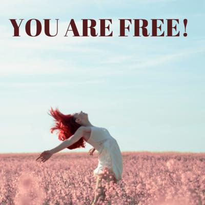 Cover art for YOU ARE FREE!
