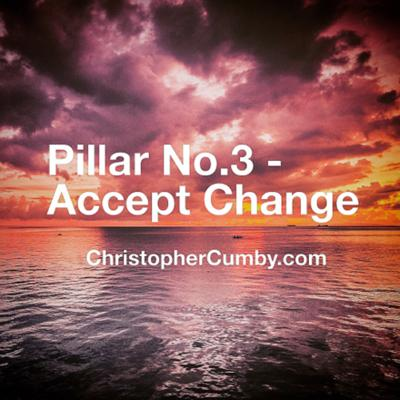 """Cover art for Ep. 16 - """"Accept Change"""", but you have to go through the pain... Pillar Three"""