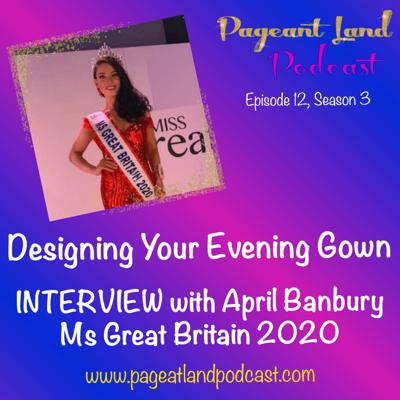 Cover art for Designing Your Evening Gown INTERVIEW with April Banbury