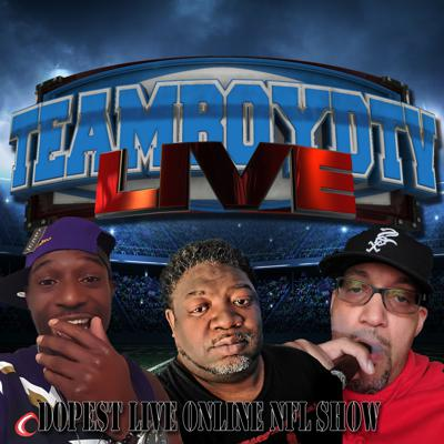 Cover art for TeamBoydTV LIVE!   NFL Week 9