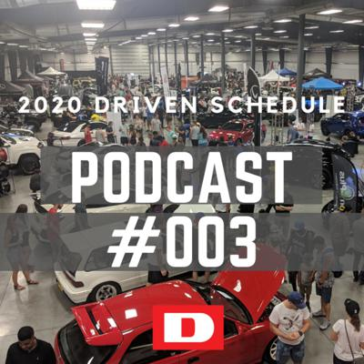 Cover art for Driven Podcast #003 - Driven Car Show Schedule - Montreal!