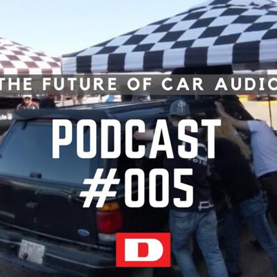 Cover art for Driven Podcast #005 - The Future of Car Audio Events