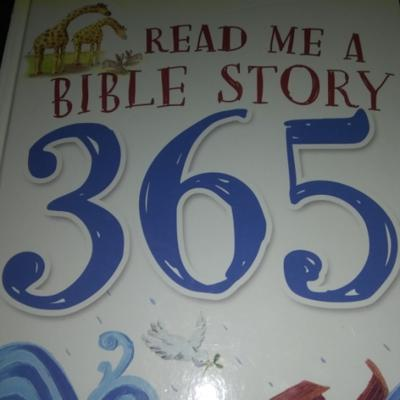 Cover art for Read me a Bible story 8-365