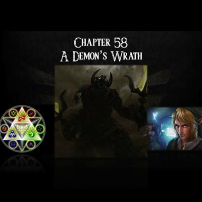 Cover art for Ocarina of Time- an audiobook production- Chapter 58: A Demon's Wrath