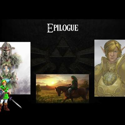 Cover art for Ocarina of Time- an audiobook project- Epilogue
