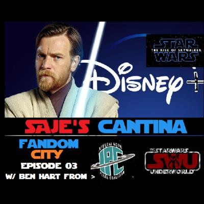Cover art for Saje's Cantina Ep 03 W/ Ben Hart from SWU