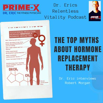 Cover art for The TOP MYTHS about hormone replacement therapy with Robert Morgan
