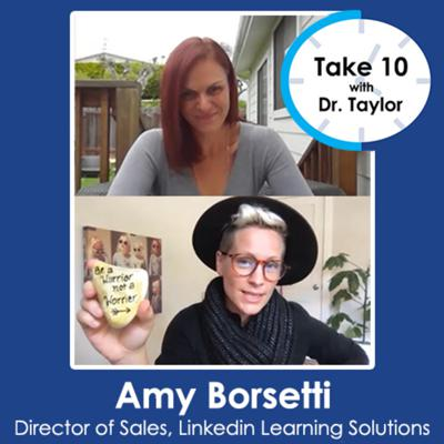 Cover art for Take 10 with Dr. Taylor | Amy Borsetti