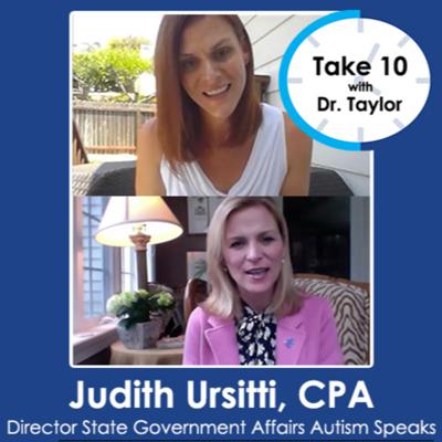 Cover art for Take 10 with Dr. Taylor | Judith Ursitti