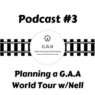 Cover art for Waiting In Line Podcast #3: Planning a G.A.A World Tour w/Nell